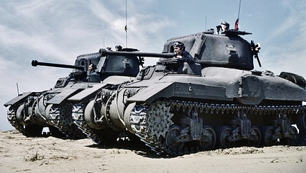 Canadian Ram tanks