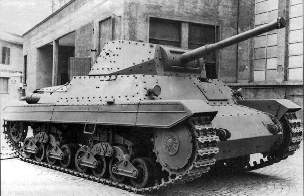 Carro Armato P 40P26-40_tank