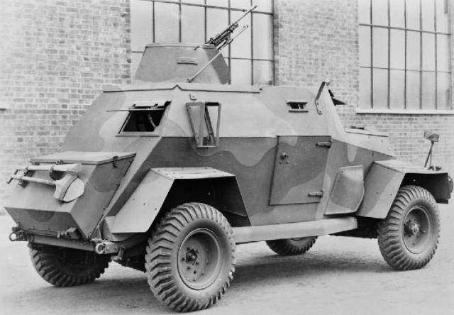 Humber Light Reconnaissance Carg
