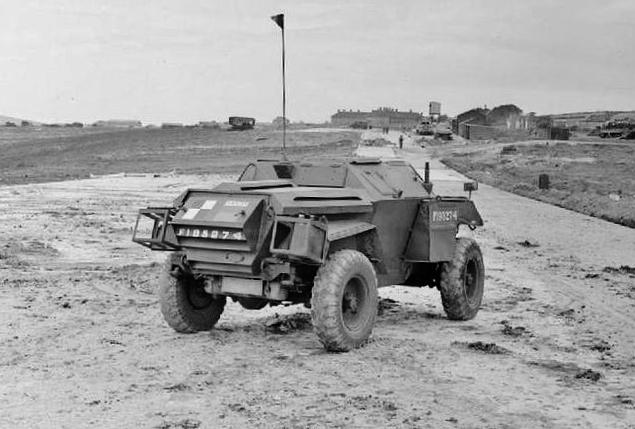 Humber Mk I scout car