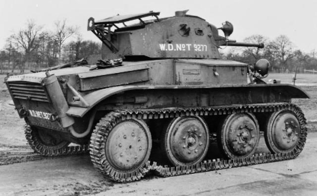 Light tank Mk VII Tetrarch Mk I --