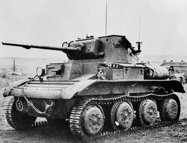 Light tank Mk VII Tetrarch Mk I