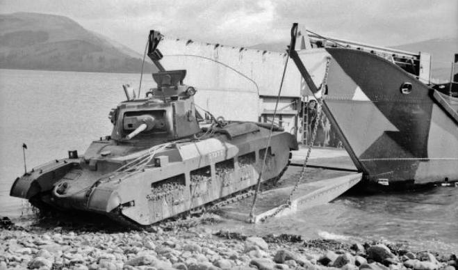 Matilda II Tank