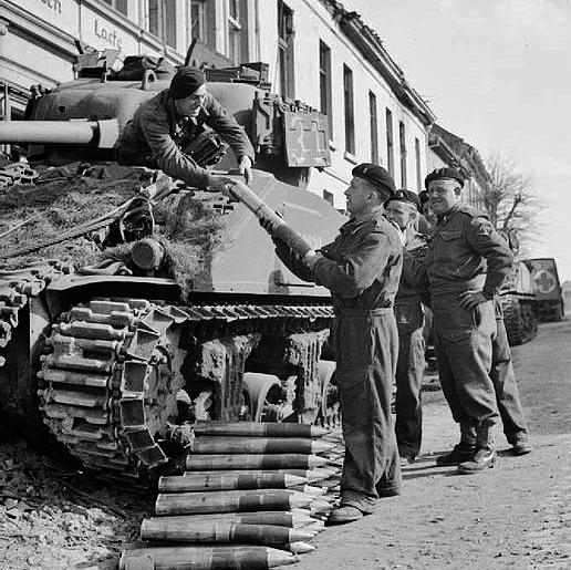 Sherman tank s