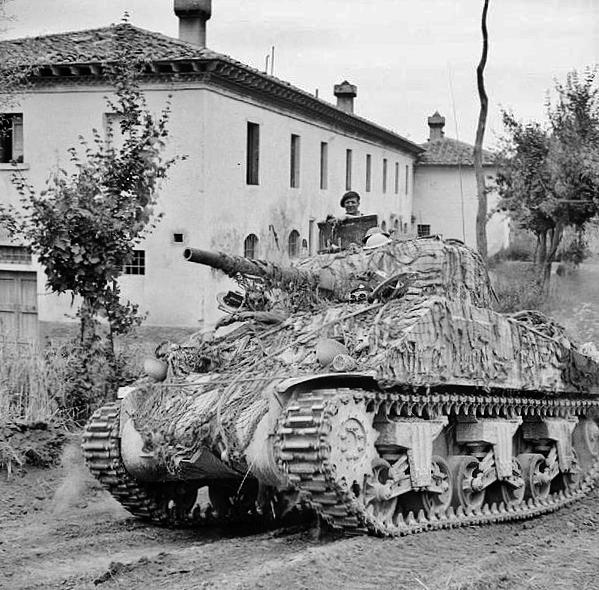 Sherman tankk